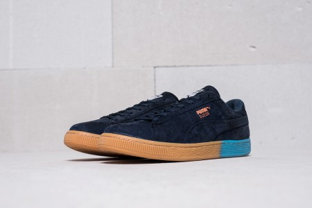 Кроссовки Puma Suede Classic x Pink Dolphin
