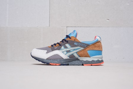 Кроссовки Asics Gel Lyte V CARBON GREY PACK