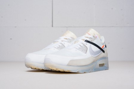 Кроссовки Nike Air Max 90 x Off White