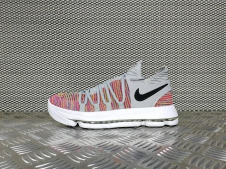 кроссовки мужские Nike Zoom KD 10 Multicolor / Black /Cool Grey / White